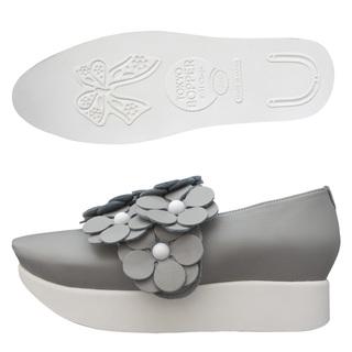 TOKYO BOPPER No.503 / Gray Flowers shoes