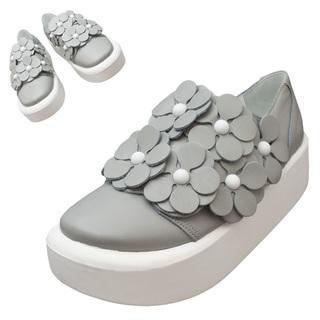 TOKYO BOPPER No.878 /  Gray S flower shoes