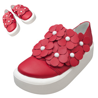 TOKYO BOPPER No.878 /  Red S flower shoes
