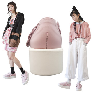 TOKYO BOPPER No.878 /  Pink S flower shoes