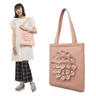 TOKYO BOPPER No.11170/Pink flower tote bag