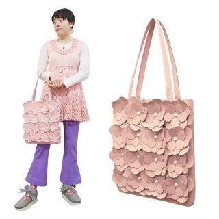TOKYO BOPPER No.11171/Pink Large flower tote bag