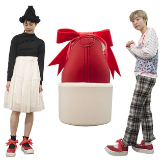 TOKYO BOPPER No.877 /  Red smooth ribbon shoes