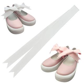 TOKYO BOPPER No.877 /  Pink smooth ribbon shoes