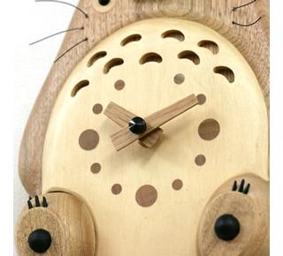 My Neighbor Totoro - Natural Wood Clock