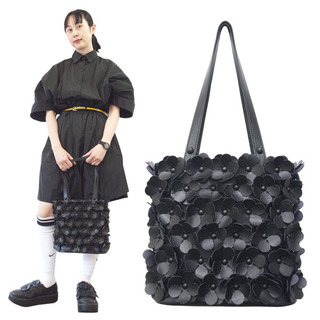 TOKYO BOPPER No.11134/ Black flower bag