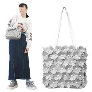 TOKYO BOPPER No.11134/ Gray flower bag