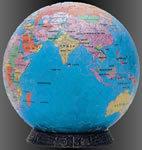 3D Puzzle Globe (240p)