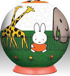 240 piece Miffy at the Zoo 3D Puzzle
