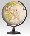 540 piece Antique-Style 3D Puzzle Globe with Crescent Stand (English Text)