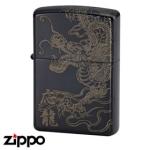 Dragon Zippo - Dragon God - Black 20DGTIBK