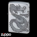 Dragon Zippo - Dragon and Phoenix 3 Face - 20DH3SV