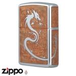 Dragon Zippo - Armor 162 Dragon - Mirror Brown