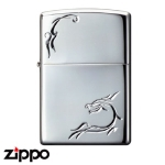 Dragon Zippo - Hand Crafted Luminous Dragon -C