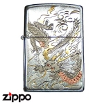 Zippo - Hand-Gilded 70's Style Dragon
