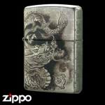 Zippo - Platinum Plated Dragon