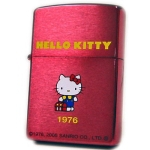 Zippo - Hello Kitty Historical Series - Metal Red