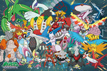 Pokemon Diamond and Pearl  - The Mythical Pokemons Jigsaw Puzzle