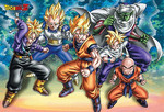 Dragon Ball Z - Warriors Jigsaw Puzzle