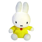 Miffy Plush - Yellow (S)