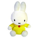Miffy Plush - Yellow (M)