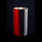 Titanium Japanese Lacquer Tumbler by Rhus  (Firelight)