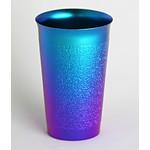 Titanium Beer Cup  (Blue)