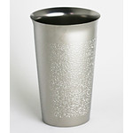 Titanium Beer Cup  (Natural)