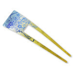 Titanium Hair Stick  (Yuzen Blue)