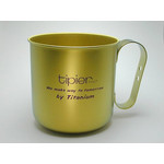 Titanium Mug Cup - Colors  (Gold)