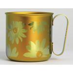 Titanium Mug Cup - Bloom  (Orange)