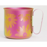 Titanium Mug Cup - Bloom  (Pink)