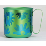 Titanium Mug Cup - Bloom  (Green)