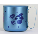 Titanium Mug Cup - Croak!  (Blue)