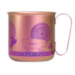 Titanium Mug Cup - Pigs  (Pink)