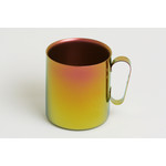 Double-Walled Titanium Mug Cup - Large with Handle  (Pink Gold)