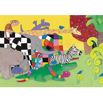 David McKee - All together 300 Micro Piece Jigsaw Puzzle