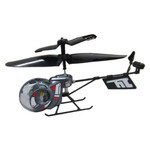 Mini-Bee - Indoor RC Helicopter (Gun Metalic)