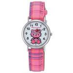 CITIZEN Q&Q - Hello Kitty Watch - V723-130 (Checkered Pink)