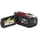 Canon High Definition Camcorder VIXIA HF R10/iVIS HF R10 (Red)