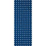 Shibori Rings - Tenugui (Japanese Multipurpose Hand Towel) - Dark Cerulean