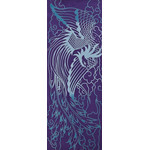 Phoenix - Tenugui (Japanese Multipurpose Hand Towel) - Blue