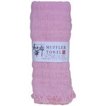 Natural Stretchy Scarf  - Pink