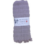Natural Stretchy Scarf  - Gray