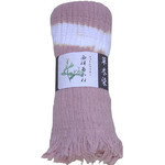 Naturally Dyed Cotton Scarf  - Hairy Root Brick