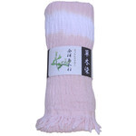 Naturally Dyed Cotton Scarf  - Hairy Root Peach