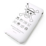 iPhone 3G/3GS Shell Jacket One Piece Jolly Roger (White)