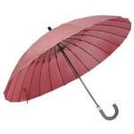 mabu - Ultralight 24 Rib Umbrella EDO (Traditional Japanese Red)