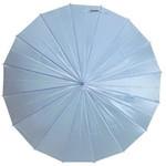 mabu - Ultralight 16 Rib Umbrella Irodori (Turquoise Blue)