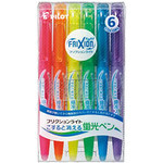 Pilot - FriXion Light Fluorescent Ink Erasable Highlighters (6 Color Set)